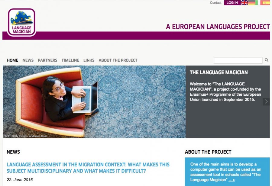 THE LANGUAGE MAGICIAN, Erasmus+